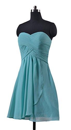 Gown amp; Chiffon 55 Assymetric BM990 Strapless DaisyFormals Short Sexy Gown Gray ax5RT7q0