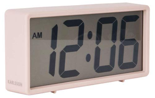 Karlsson Table Clock, Pink, One Size
