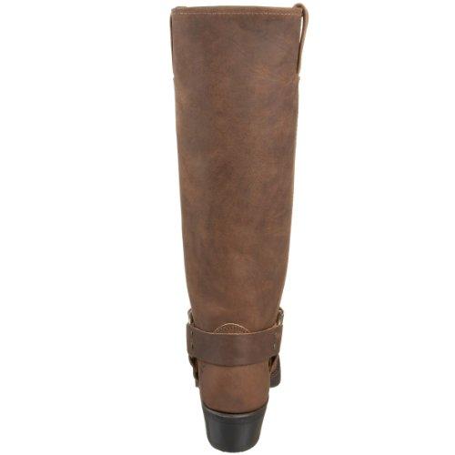 FRYE - Botas de cuero para mujer Tan-77329