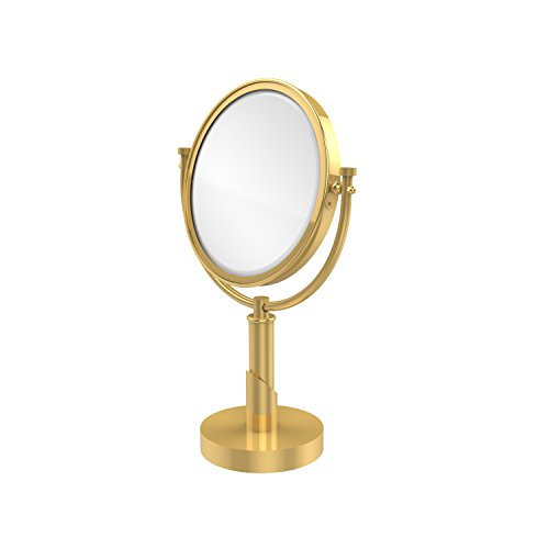Allied Brass TR-4/2X-PB Table Mirror with 2X Magnification, Polished Brass ()