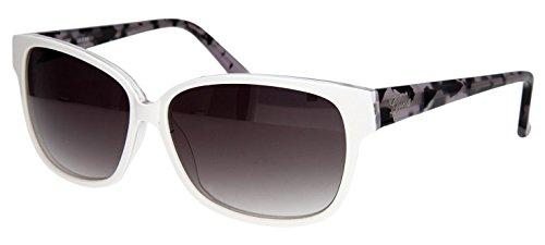 Guess Damen Sonnenbrille Weiss GU7331-WHTN-35-60