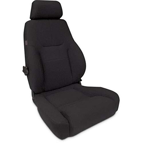Elite Recliner - ProCar by Scat 80-1200-61R Black Velour Racing Elite Lumbar Recliner Right Seat