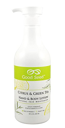 Good Seed Citrus Lotion Packaging product image