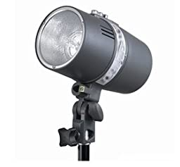 CowboyStudio Photo Studio Monolight Flash Lighting Kit with Carrying Case - 3 Studio Flash/Strobe, 2 Softboxes, Strobe Accessories