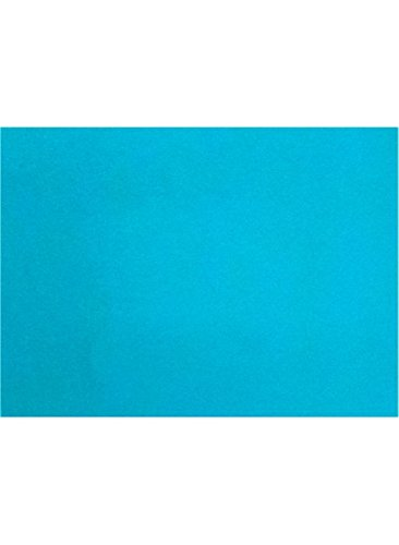 A7 Flat Card (5 1/8 x 7 ) - Trendy Teal (250 Qty.) by Envelopes Store