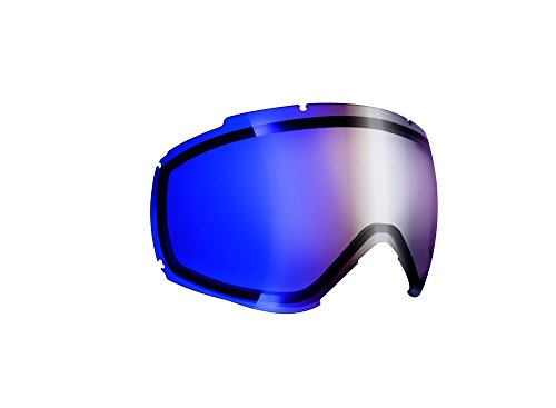 Cébé R/L Super BionicEcran de Remplacement pour Masque de Ski Mixte Enfant R/l Ridge Otg Brown Flash Blue