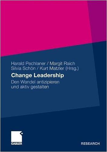 Leadership und Change Management (German Edition)