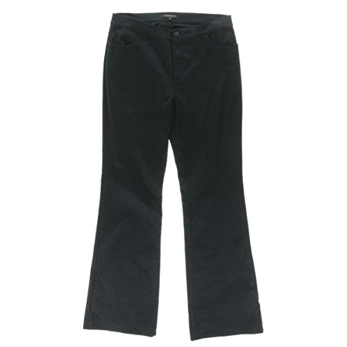 Lafayette 148 Womens Thompson Solid Boot Cut Casual Pants Navy 10 by Lafayette 148