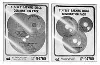 SG Tool Aid 94760 Phenolic Backing Disc (Phenolic Backing)