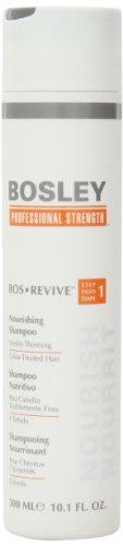 Bosley Bos Revive Shampooing Nourrissant pour cheveux visiblement éclaircie Colorés, 10,1 once
