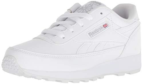 Reebok Unisex CL Renaissance Sneaker, White/Steel, 1.5 M US Little Kid]()