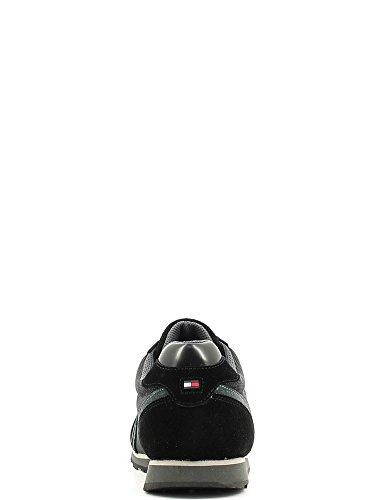 HILFIGER TOMMY Tommy Scarpe Grigio Sportive Black Uomo Hilfiger URFqd1wR