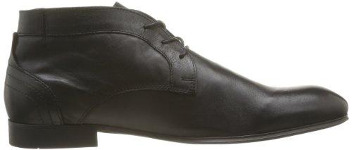 Hudson Thursom 2 D705010 - Botas de cuero para hombre Negro (Schwarz (Black))