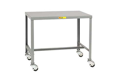Little Giant MT1-1824-30-3R Mobile Steel Top Machine Tabl...