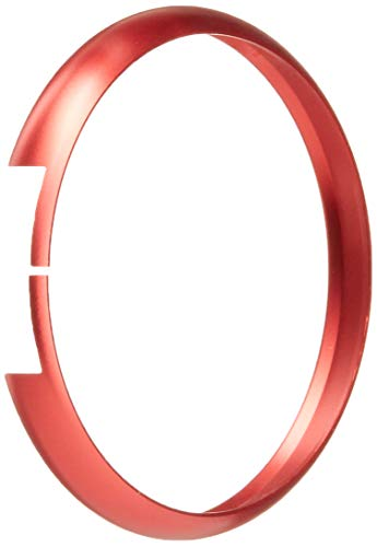 GoBadges KC088 Replacement Smart Key Fob Ring (Red - for Mini Cooper R55,R56,R57,R58,R59,R60)