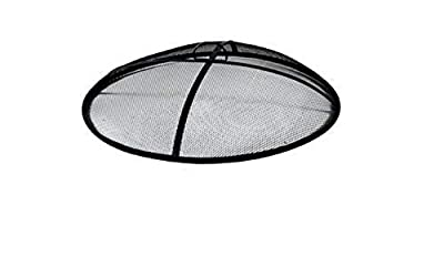 """Backyard Creations Round Mesh Fire Pit Spark Screen Cover, 31"""""""