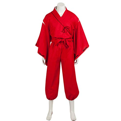 Cosfun Inuyasha Hero Simplified Cosplay Costume mp002405