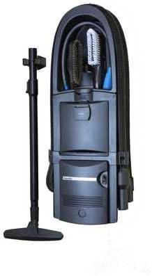 GarageVac Aspirador de coche para montaje de pared, color negro: Amazon.es: Coche y moto