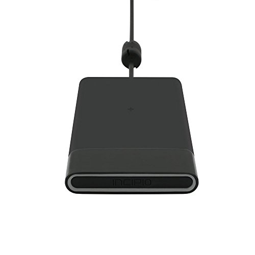 Incipio Ghost 3-COIL Qi Fast Wireless Charging Charger Pad for All Qi-enabled Smartphone: iPhone 8 8 Plus X, Samsung Galaxy Note8 S8 S8+ S7 S7 S6 Edge S6 Edge+ Note (Incipio Wireless Cell Phone)