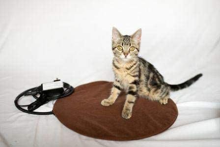 The Kitty Tube Safe Low Voltage Round Pet Heating Pad