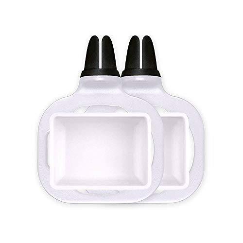 Aerobin Car Dip Clip Sauce Holder Removable Reusable Saucem Dip Clip In-car Sauce Holder for Ketchup Dipping Sauces 2Pcs