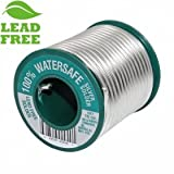 100% Watersafe Lead-Free Solder, 1lb spool