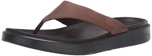 ECCO Men's Flowt LX Thong Flip-Flop Cocoa Brown 45 M EU (11-11.5 US) ()