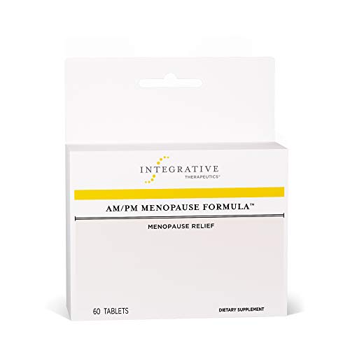 Integrative Therapeutics - AM/PM Menopause Formula - Menopause Support Supplement - 60 Tablets