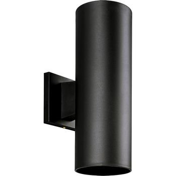 Progress Lighting P5713-31 5-Inch Non-Metallic Cylinder with Only Non-Corrosive Hardware Components Used and UL Listed for Wet Locations, Black ()