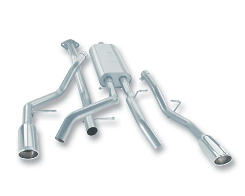 Borla 140231 Stainless Steel Cat-Back Exhaust System (07 Gmc Sierra Cat)