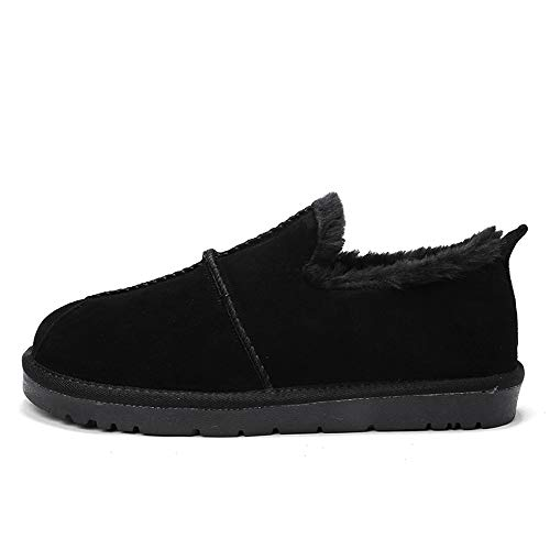 Inside Chaussures Hiver Style De Fleece Pour 44 À Supporter Faux Bottes Hommes shoes color Noir British Noir L'usure La Bnd Durable; Neige Eu Taille Mode Low Home Casual Top 6EwFOHTxqx