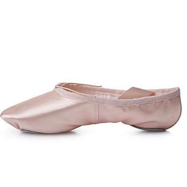 CN30 Ballet EU31 Flats 5 Purple UK0 Nude Silk Ruby Professional Women's 5 US1 Fabric Hq1wZfdOvO