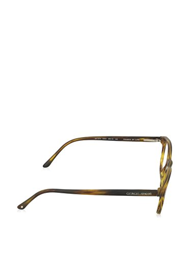 Giorgio Armani Montures de lunettes 7074 Pour Homme Dark Tortoise, 48mm 5404: Striped Matte Light Brown