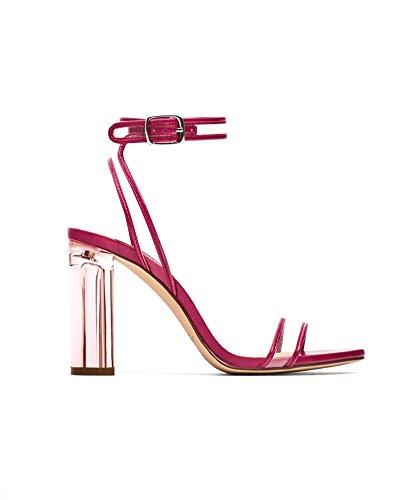 Zara Donna Sandalo tacco vinile 6552/201