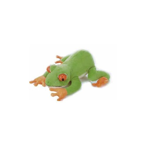 Green Spotted Frog Plush Toy 10