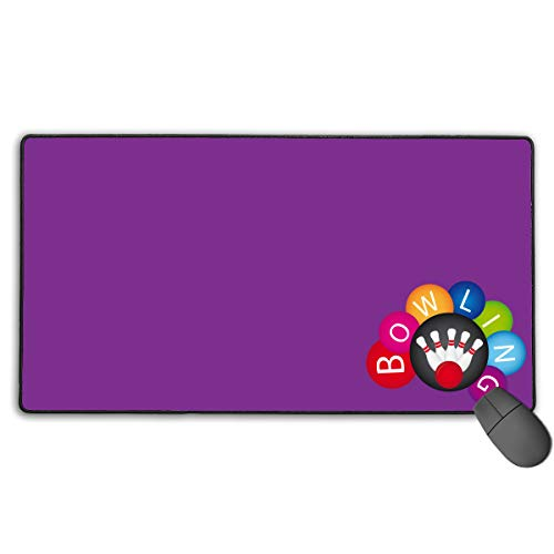 GGlooking Mousemat Bowling Mouse Pad Gaming Mat Computer Mousepad Large Non-Slip Keyboard Desk Accessories,Office & School Supplies ()