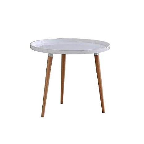 Tavolini Da Salotto Rotondi Moderni.Kunstdesign 1 Pc Tavolino Da Caffe In Legno Con