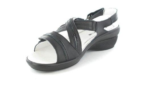 Romika - Sandalias de vestir para mujer Negro negro