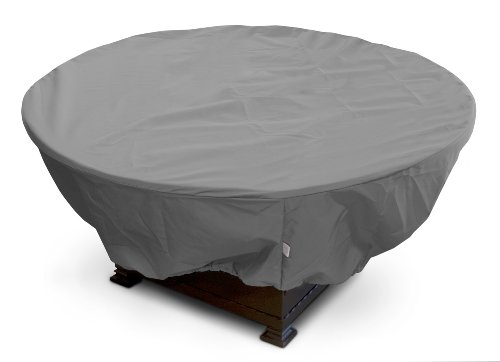 KoverRoos Weathermax 83067 Large Firepit Cover, 45-Inch Diameter by 21-Inch Height, Charcoal Review