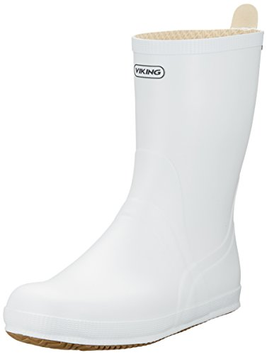 White Unlined Adults' Shaft Boots Unisex Rubber White amp; Viking 1 Half Seilas Boots Bootees RwPT44