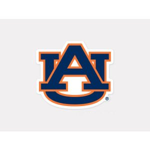 NCAA Auburn University 52824012 Perfect Cut Color Decal, 4