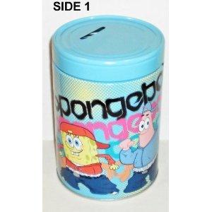 Spongebob Squarepants & Patrick Round Tin Bank