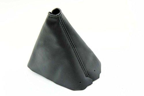 DSV Fits 1984-1989 Corvette C4 Synthetic Black Leather Automatic Shift Boot (Skin - Corvette Shift Boot