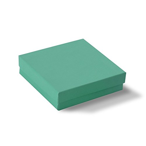 Teal Cotton Filled Box #33 by Gems on Display (Image #1)