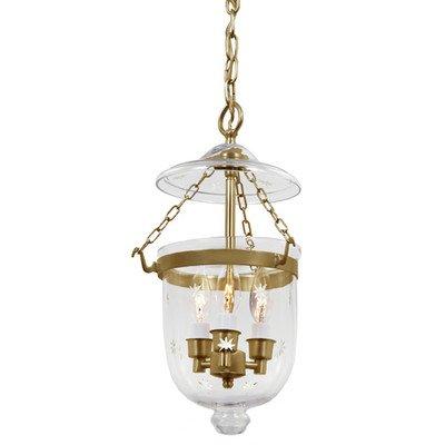 Small Bell Jar Pendant Lights - 3