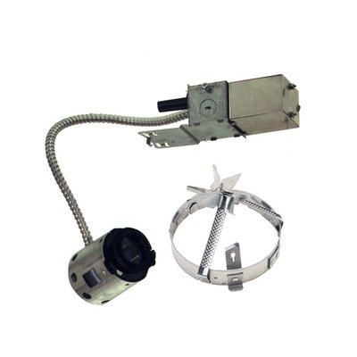 (Lytecaster Low Voltage MR16 Non IC Remodeler Frame-In-Kit)