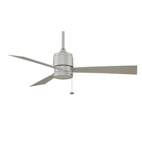 Fanimation Zonix Wet - 52 inch - Satin Nickel with Satin Nickel Blades and Pull-Chain - FP4640SN