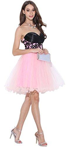 Dress Tutu Ababalaya Women Short Purple Tulle Dresses Prom Homecoming wRw1YIqBx