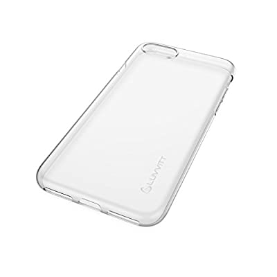iPhone 7 Case, LUVVITT [Ultra Slim] Soft Slim Flexible TPU Back Cover Transparent Rubber Case for Apple iPhone 7 - Clear