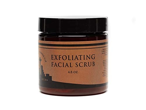 Exfoliating Face Scrub & Cleanser, Developed with Natural Ingredients, Exfoliating Lush Facial Wash for Deep Pore Cleansing and Anti-Aging Best for Mens and Women Acne, Dry, Oily or Sensitive Skin.